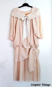 Robe vintage esprit années 20